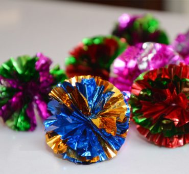 Mylar Crinckle Ball